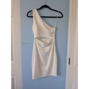 Dynamite Asymmetrical One Shoulder Dress